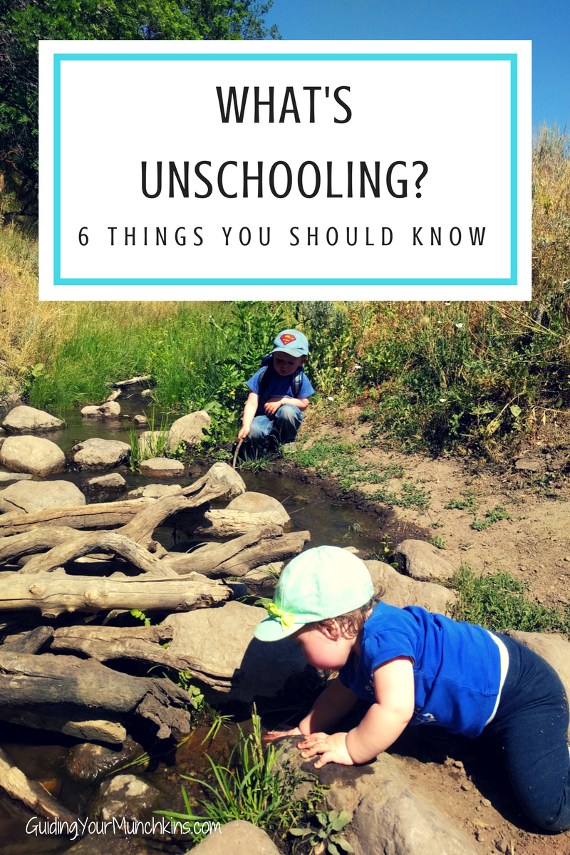 What's Unschooling 6 things you should know